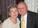 А.Кулеша с женой Ириной