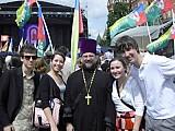 Молодежь РПЦЗ на форуме 'Вера и дело'<br>в Москве. Май 2010 г.