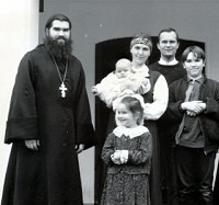 О.Андрей Труфанов трагически<br/>  погиб на Пасху 2004 г.,<br/> оставив жену и четверых детей