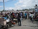 Палаточный городок в Гаити.
