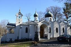 Храм преп.Серафима Саровского в Си Клиф, <br/>шт. Нью-Йорк,где проходил <br/>Св-Германовский съезд 2013.
