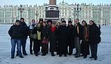 Группа молодежи РПЦЗ <br>в Санкт-Петербурге. Январь, 2010 г.
