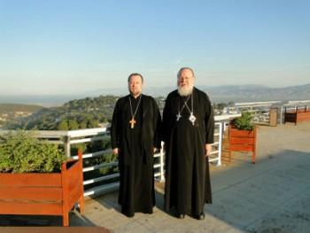 Митрополит Иларион и прот.Александр Анчутин в Гаити