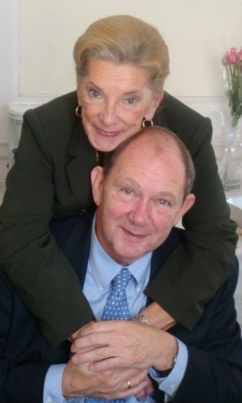 Князь В.К. Голицин с женой Татьяной.
