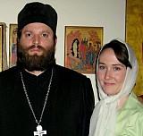 О.Димитрий Харпер <br>с женой Мариной