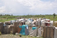 Палаточный городок в Порт-о-Пренс.<br>Апрель 2010 г.